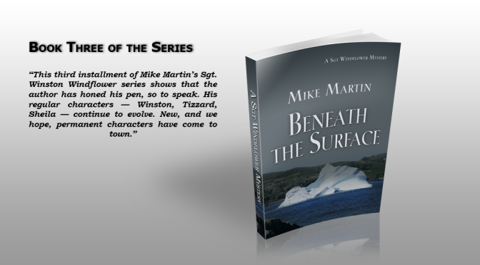 Novel Beneath the Surface by Mike Martin