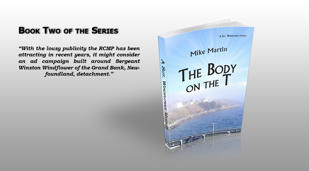 Novel - Body on the T by Mike Martin
