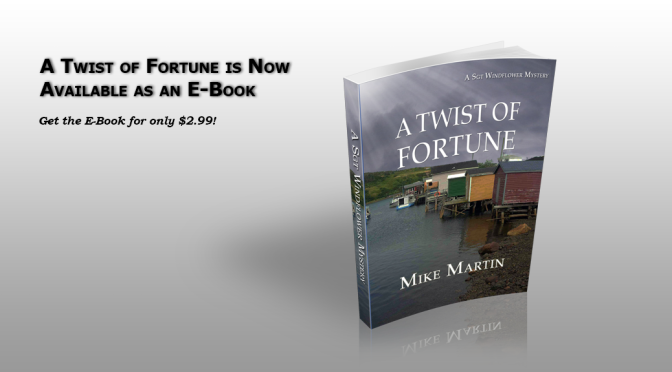 A Twist of Fortune is now available as an E-Book