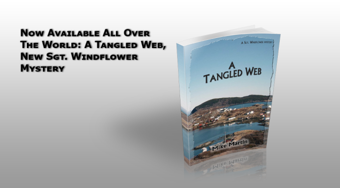 Now Available in Kindle and Kobo: A Tangled Web, the New Sgt. Windflower Mystery
