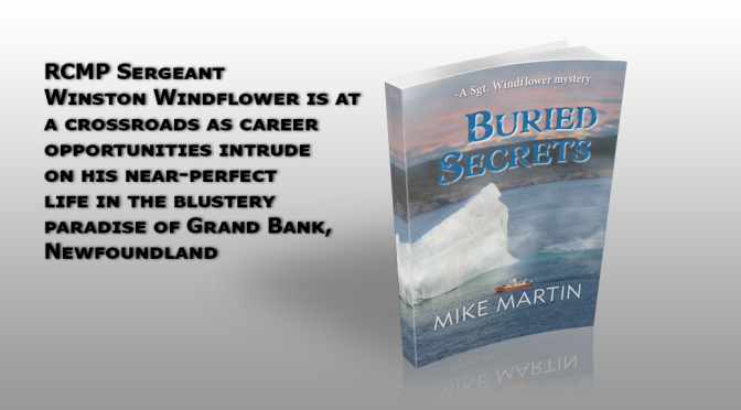 Release Day for Buried Secrets